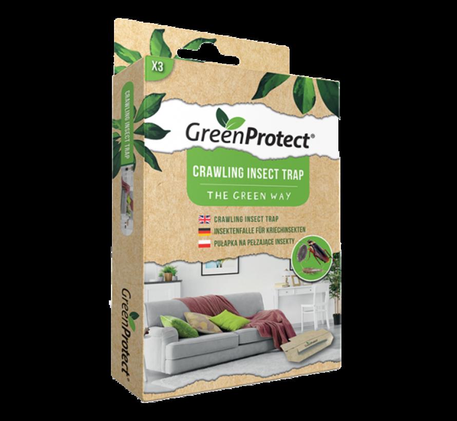 Green Protect Kruipende Insectenvak - zilvervisjes, kakkerlakken, pissebedden, mieren