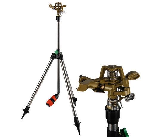Deuba Deuba Gazonsproeier Irrigatie met Telescopische Standaard