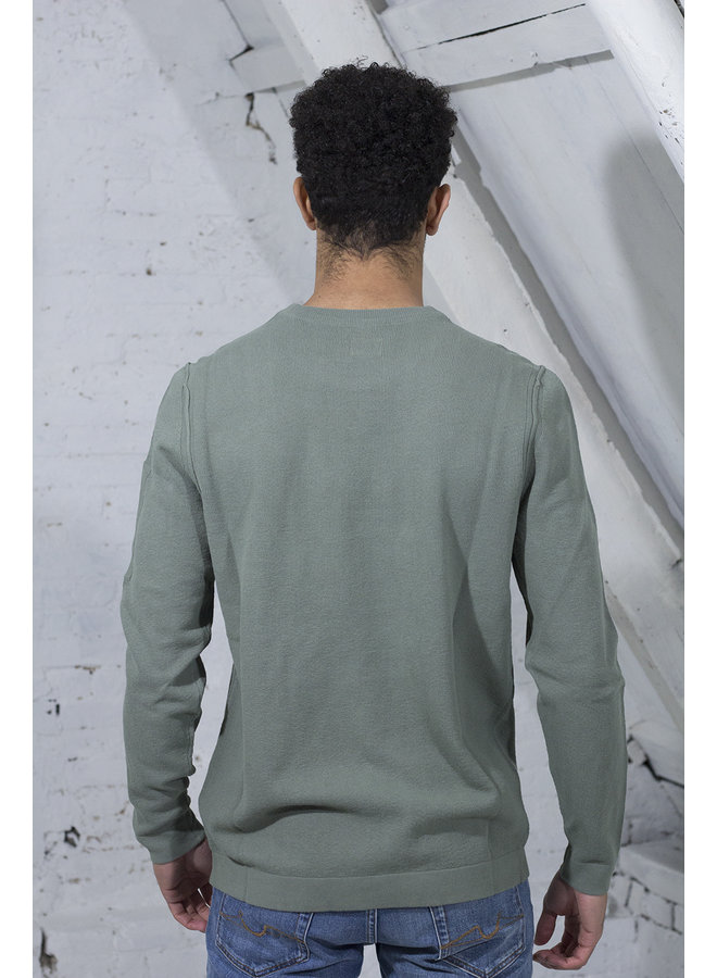 C.P. COMPANY PULLOVER GROEN [CP11] MKN134A 5700G [668]