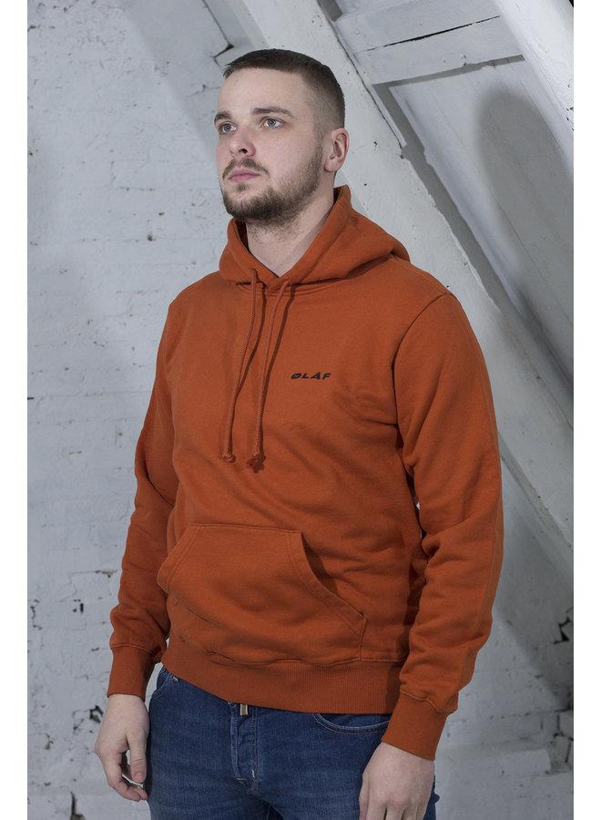 UNIFORM HOODIE ORANJE [OH11] Uniform Hoodie [b. orange]