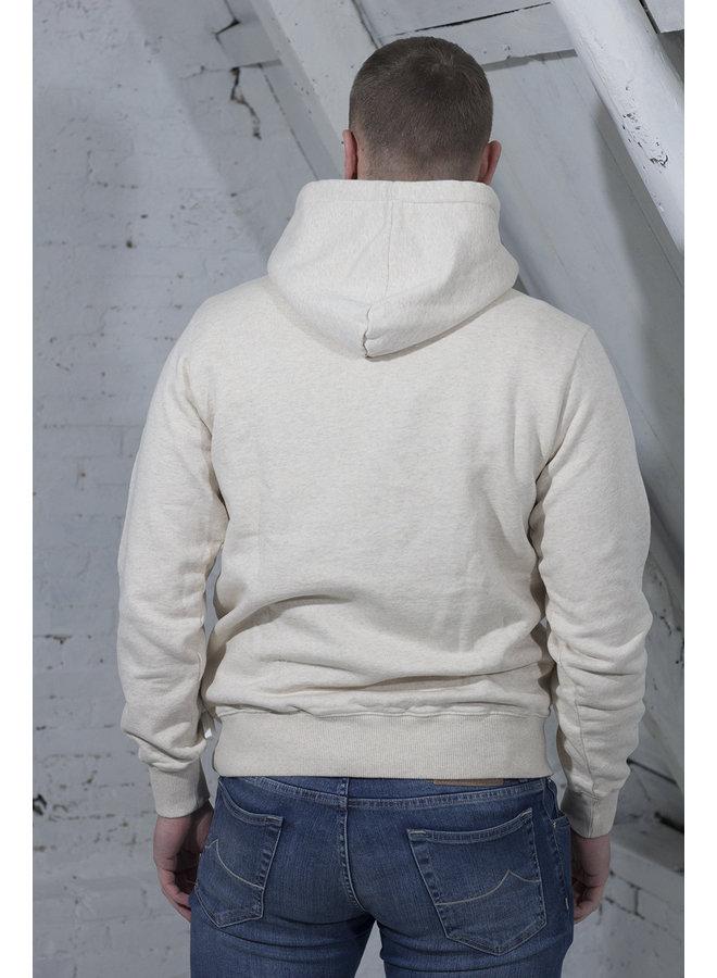 UNIFORM HOODIE BEIGE [OH11] Uniform Hoodie [ecru h.]