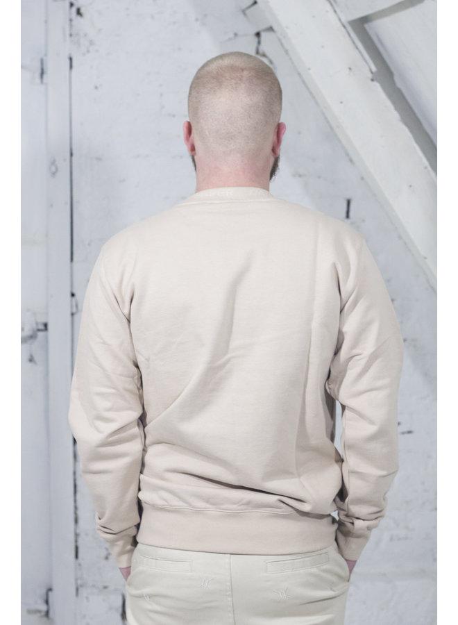 DAILY PAPER DERIB SWEATER BEIGE [DP11] Derib [beige]