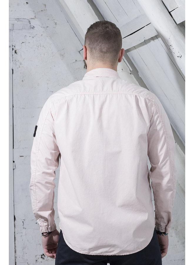 Stone Island Overshirt roze uni  [SI11] 110WN [182]