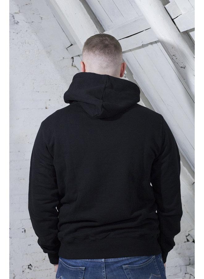 CHAINSTITCH HOODIE ZWART [OH11] Chainstitch [black]