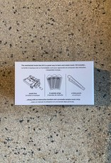 Kikkerland Make your own music box kit