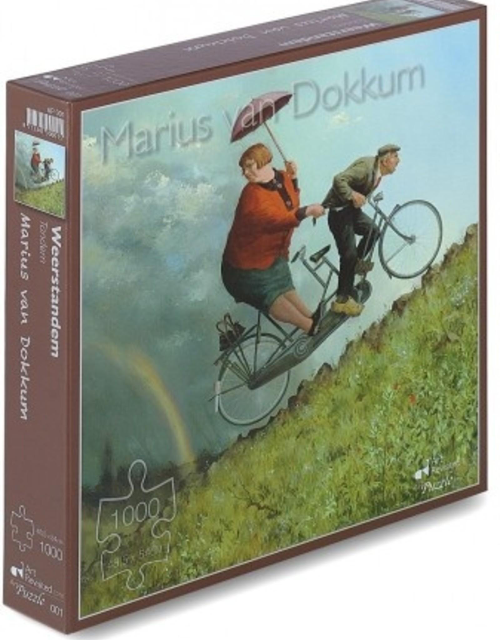 """Art Revisited Puzzel Marius van Dokkum """"Weerstanden"""" 1000 stukjes"""