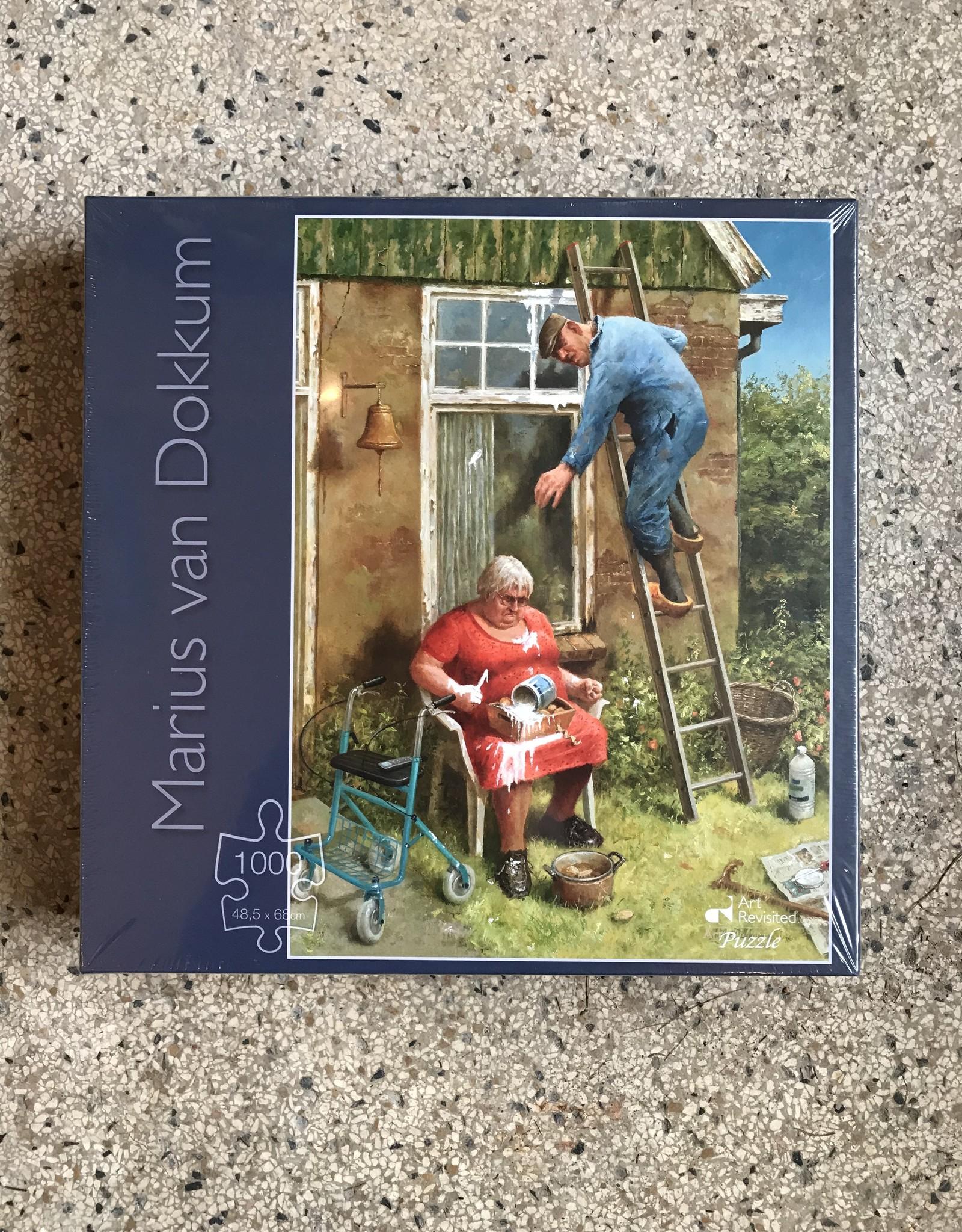 Art Revisited Marius van Dokkum  puzzle 'Do it yourself'  1000 pieces