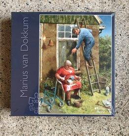 Art Revisited Marius van Dokkum  puzzel 'Do it yourself'