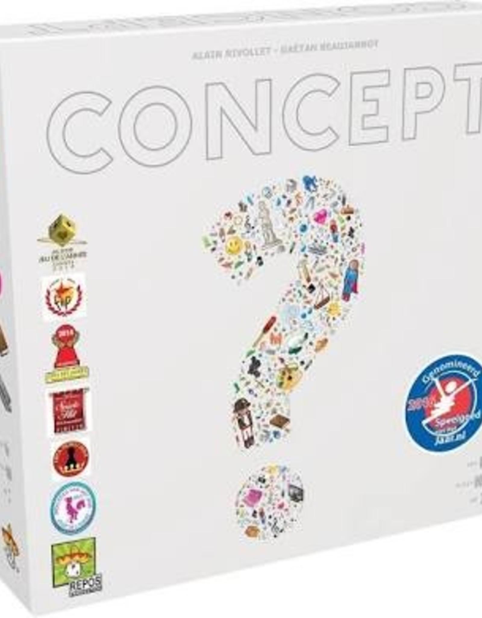 Repos Concept boardgame