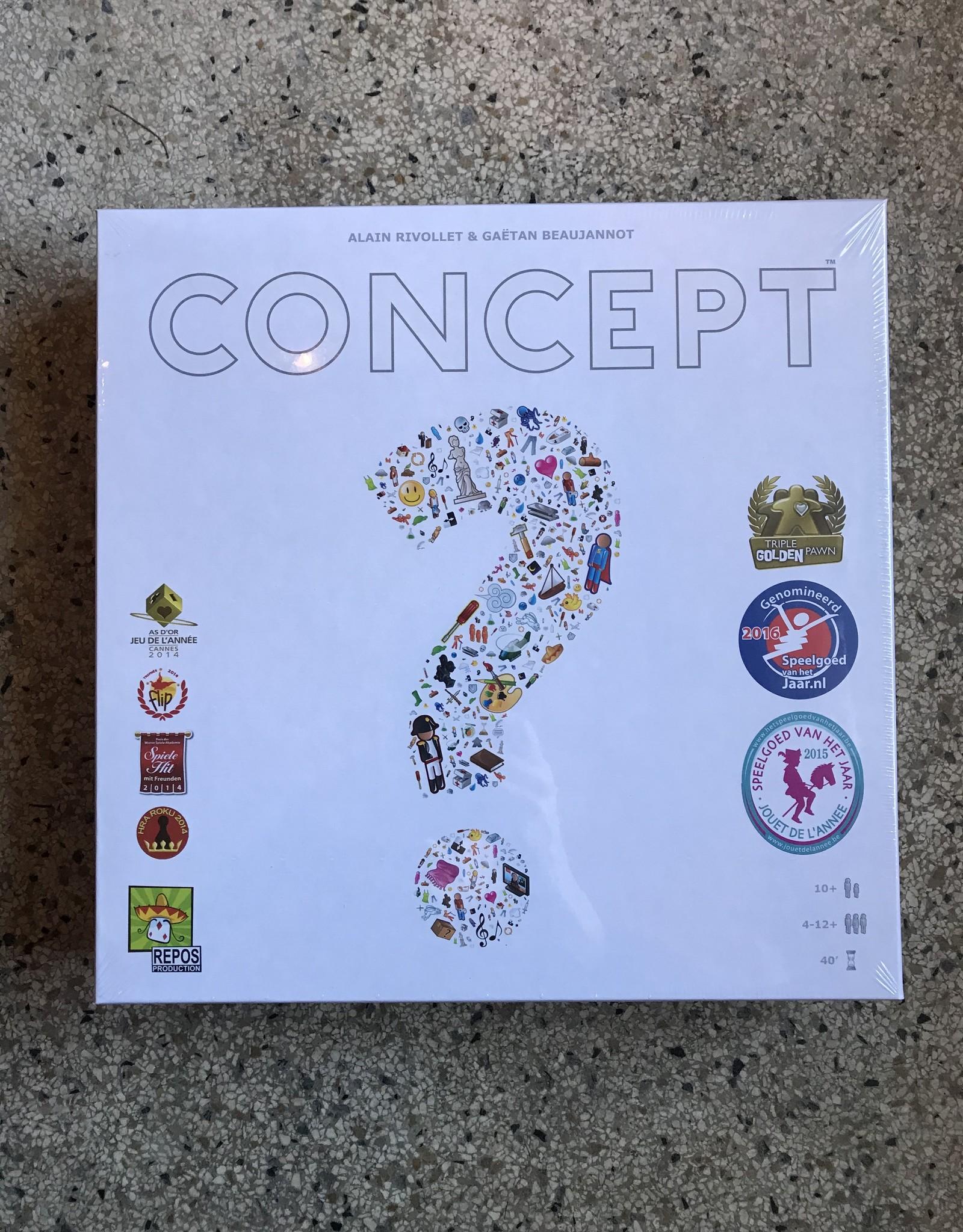 Repos Concept bordspel