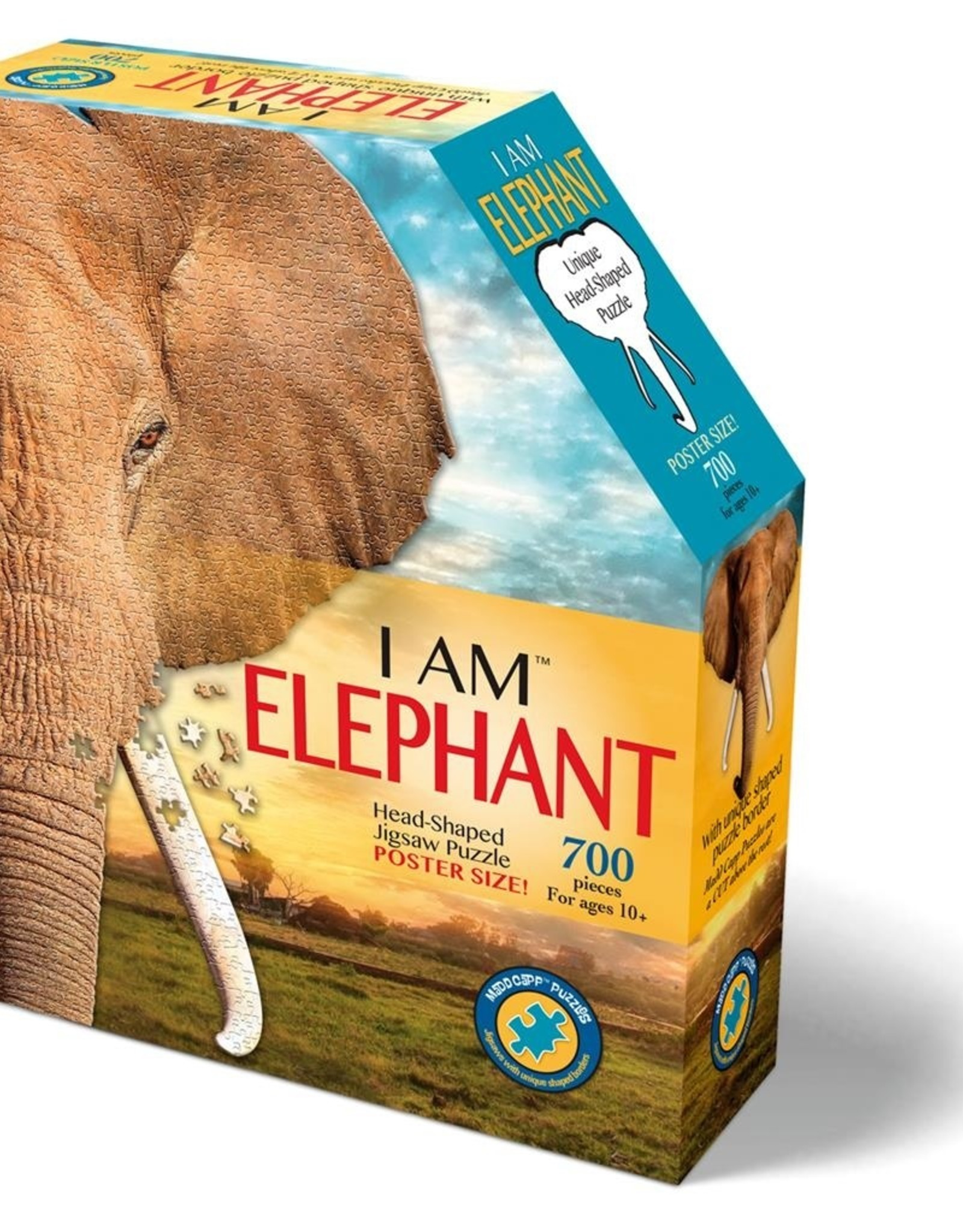 madd capp puzzles I am Elephant - puzzle 700 pieces