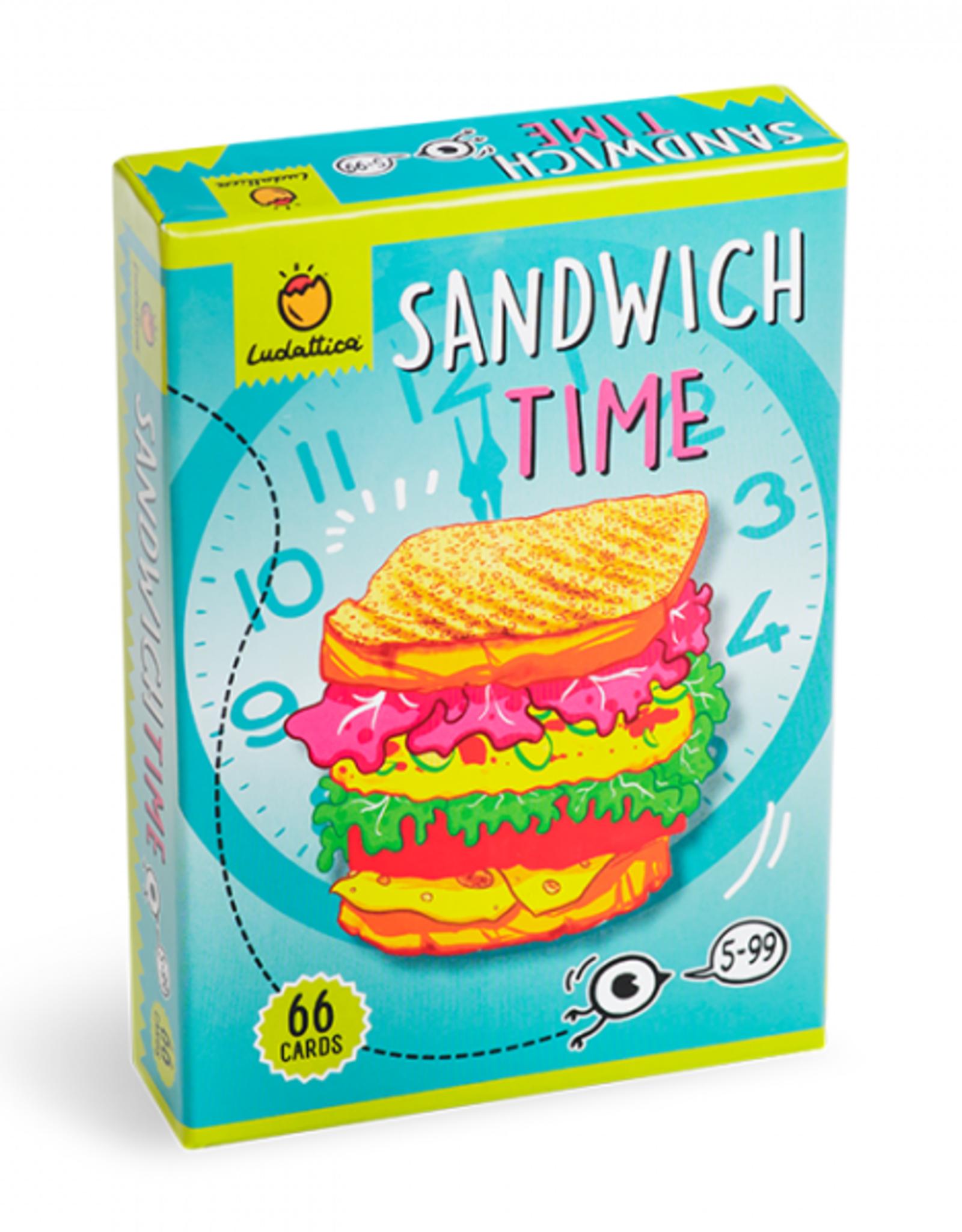 Ludattiva Sandwich - card game