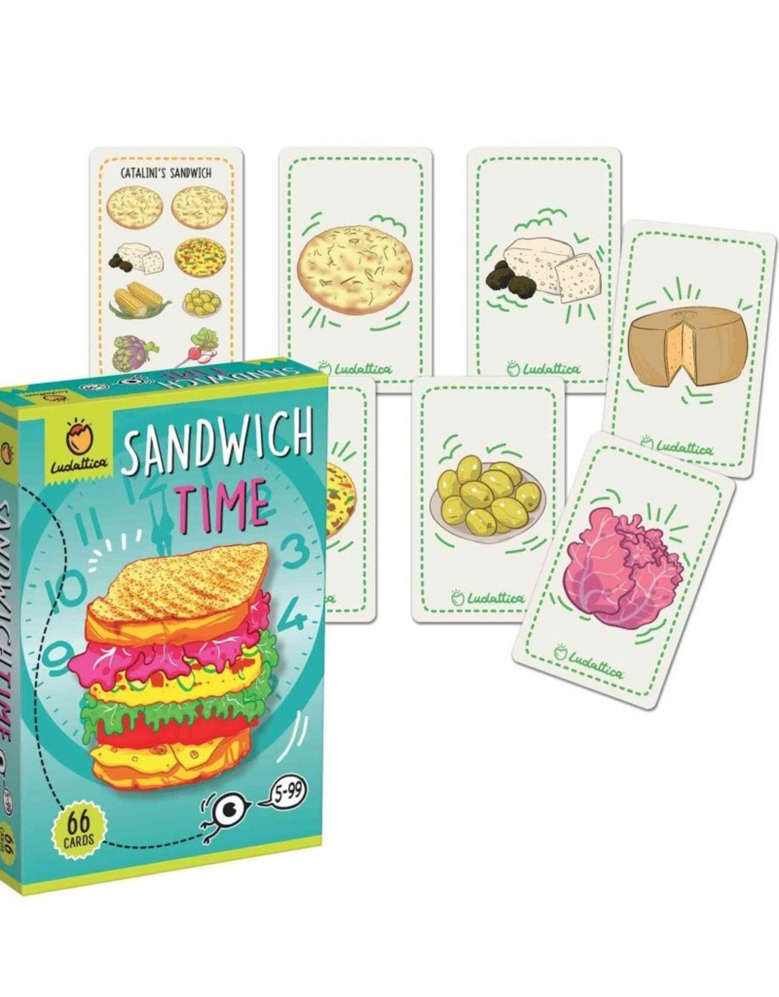 Ludattiva Sandwich time  - kaartspel