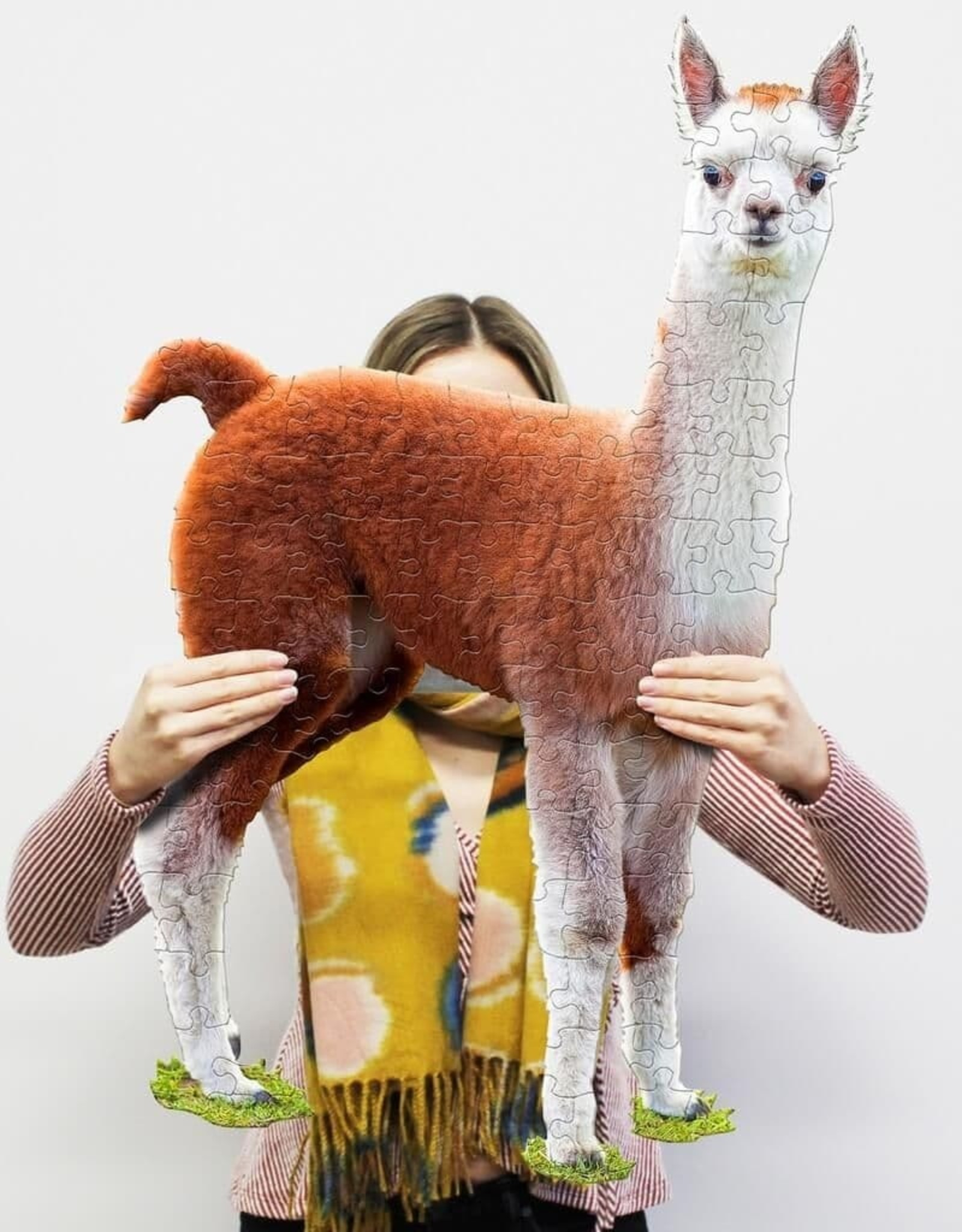 madd capp puzzles I am LiL' Llama puzzel 100 stukjes