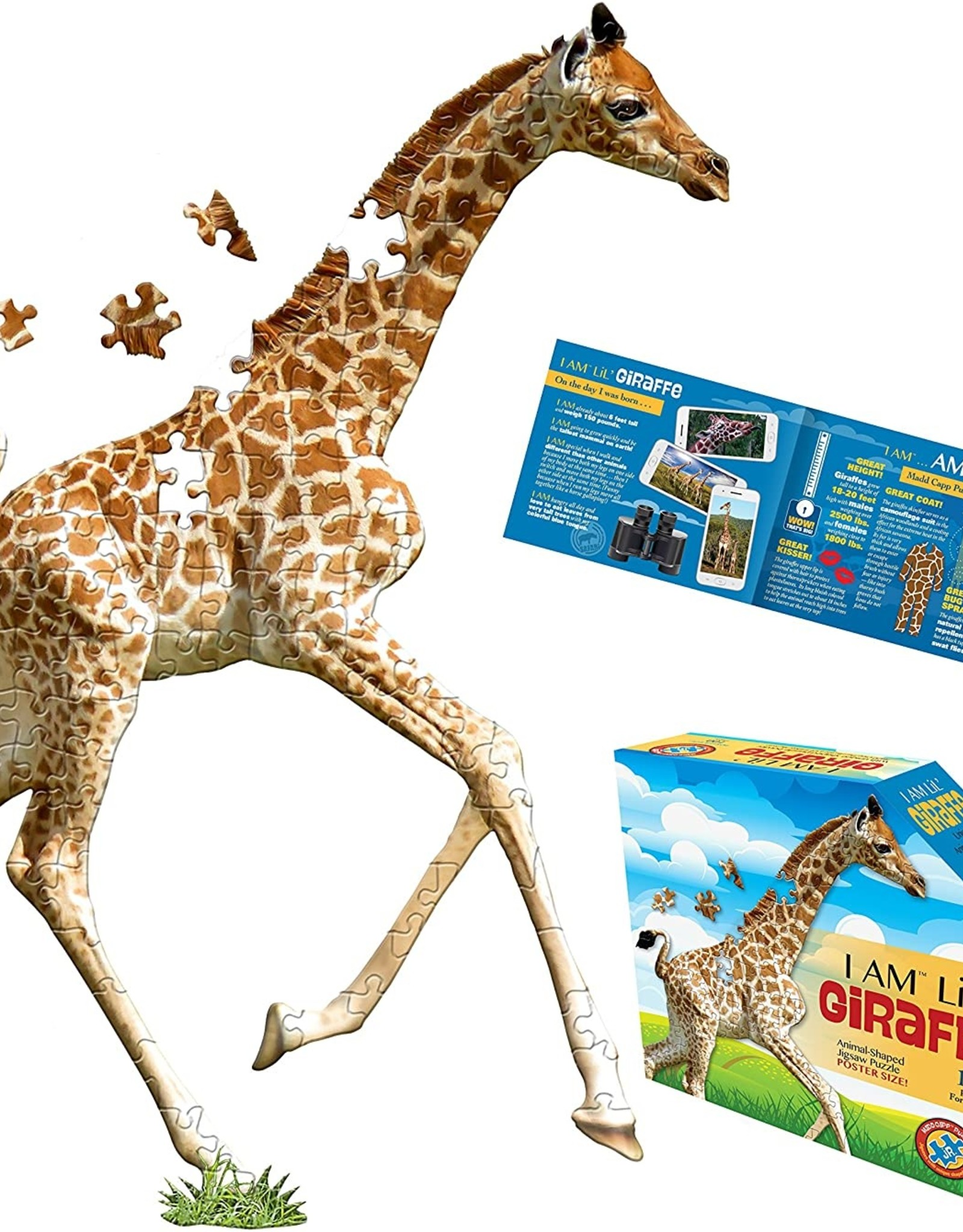 madd capp puzzles I am Lil' Giraffe puzzle - 100 pieces