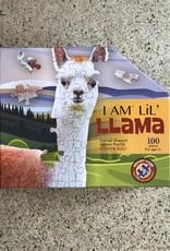 madd capp puzzles I am LiL' Llama  puzzle 100 pieces