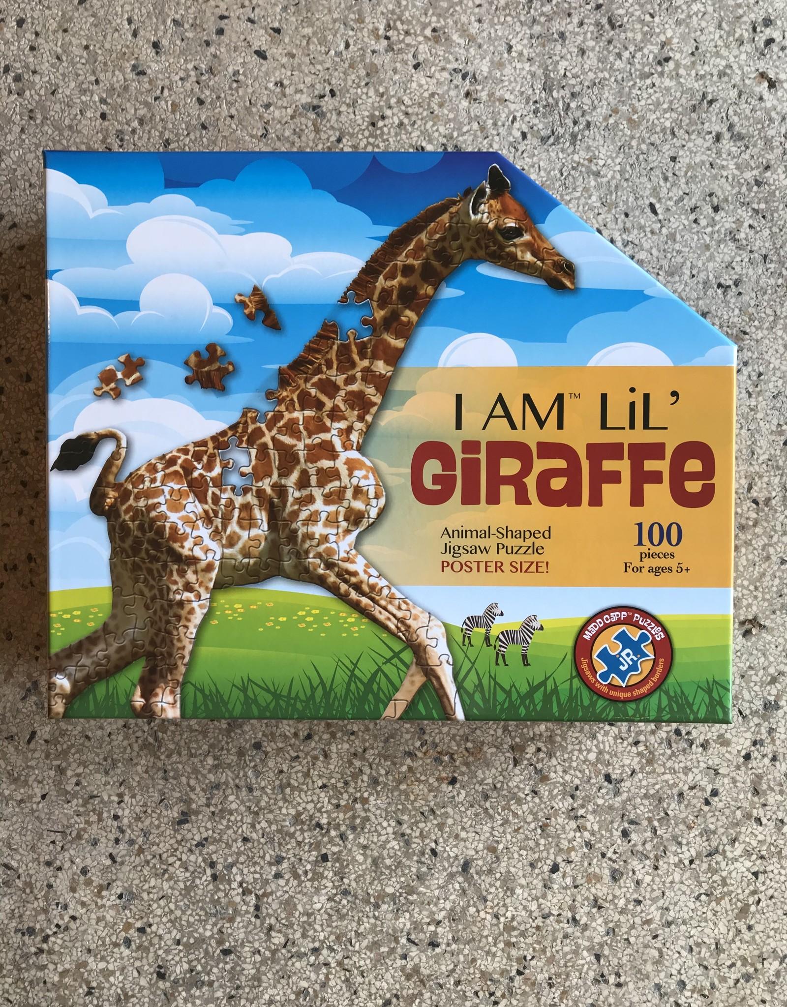 madd capp puzzles I am LiL' Giraffe puzzel - 100 stukjes