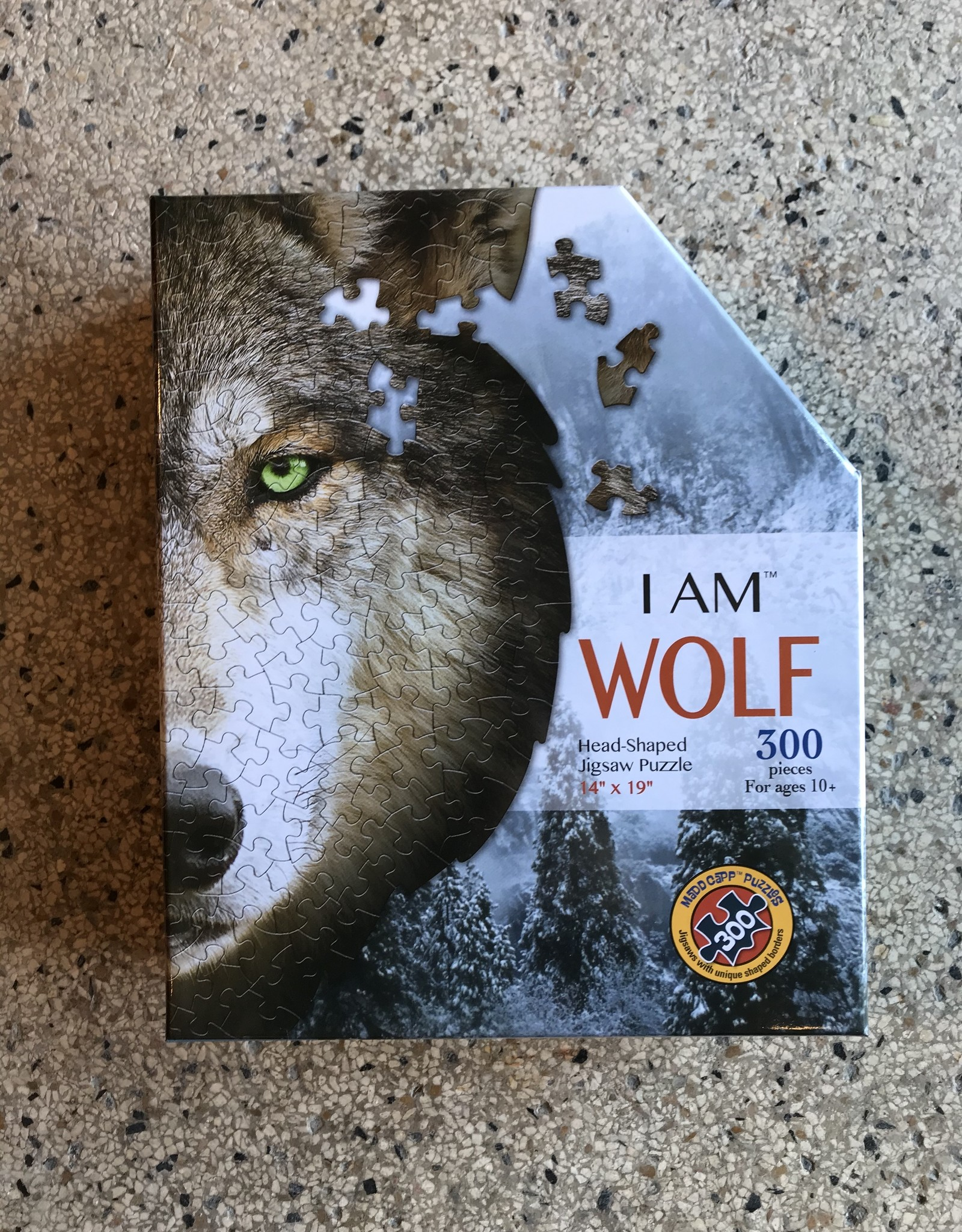 madd capp puzzles I am Wol Puzzle - 300 pieces