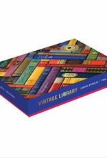 Galison Design Vintage Library - puzzel 1000 stukjes