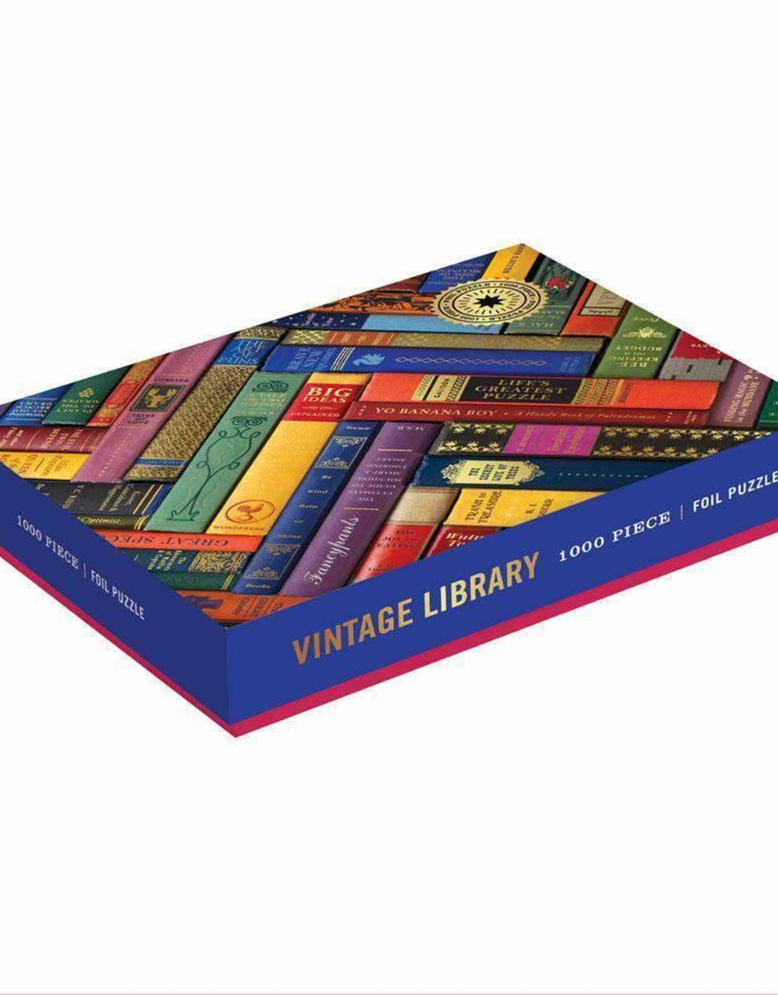 Galison Design Vintage Library - puzzle 1000 stukjes