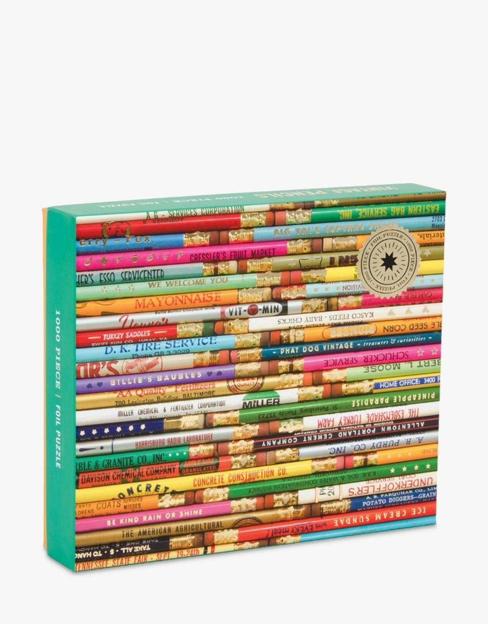 Galison Design Vintage Pencils puzzel 1000 stukjes