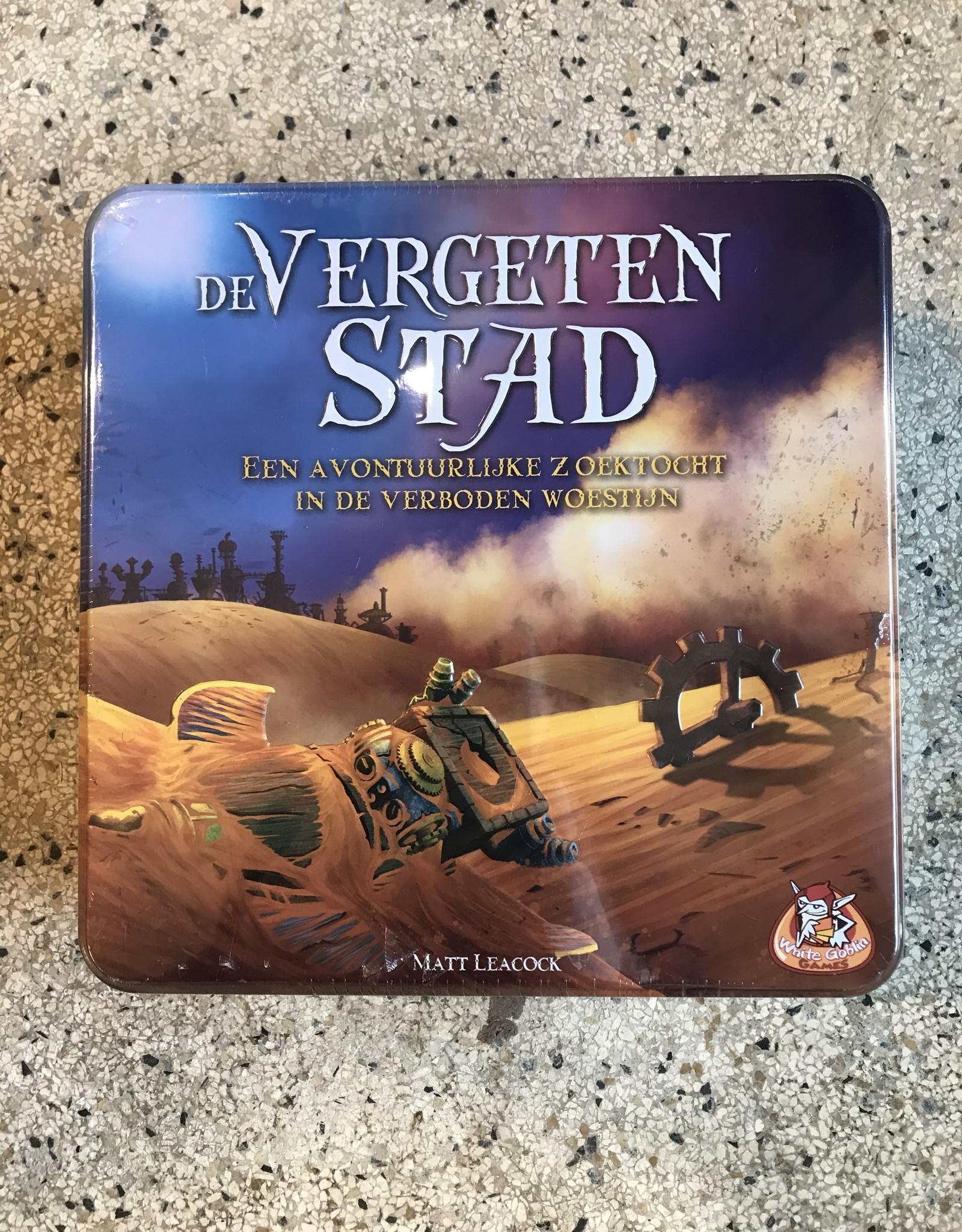 White goblins De vergeten stad - boardgame (in Dutch!)