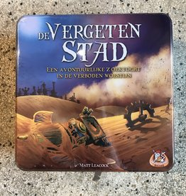 White goblins De vergeten stad - boardgame (in Dutch!)