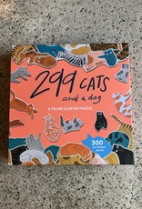 Laurens King 299 cats and one dog cluster puzzle