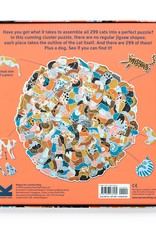 Laurens King 299 katten en een hond - cluster puzzel
