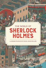 Laurens King Puzzle 'The world of Sherlock Holmes' 1000 pieces