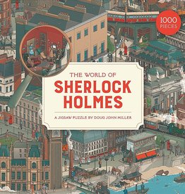 Laurens King Puzzle 'The world of Sherlock Holmes'