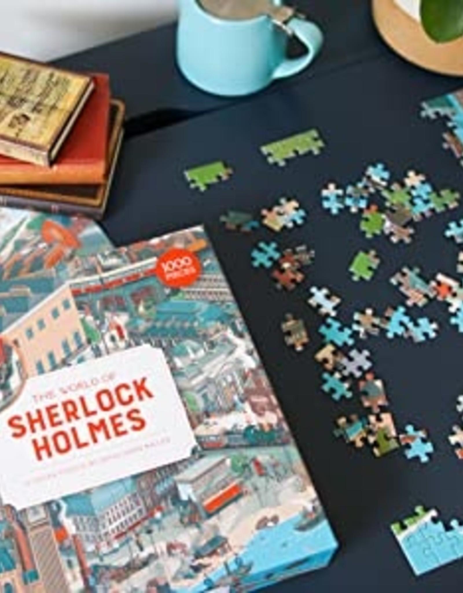 Laurens King Puzzel 'The world of Sherlock Holmes'  1000 stukjes