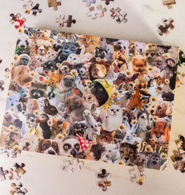 Smith street gift This jigsaw is literally just pictures of cute animals that will make you feel better. 500 pieces