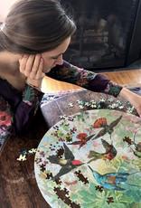 Eeboo Eeboo Hummingbirds puzzel 500 stukjes ROND