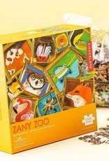 kikkerland Zany Zoo KIkkerland puzzle  1000 pieces