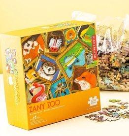 kikkerland Zany Zoo Kikkerland puzzel 1000 stukjes