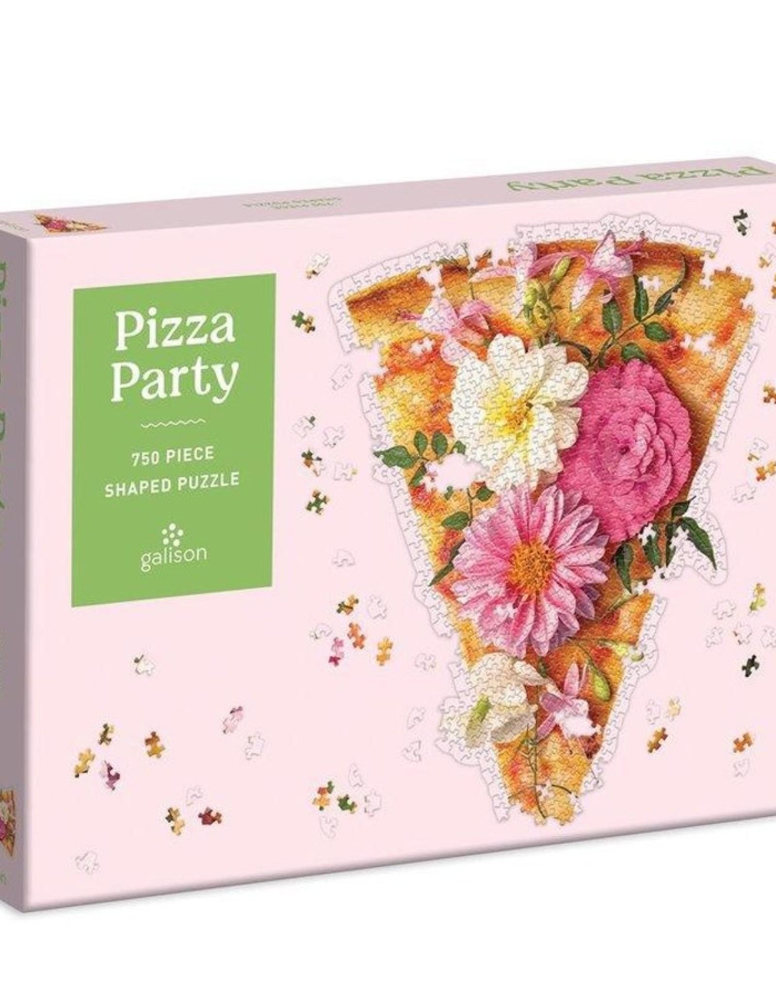 Galison Pizza Party puzzle 750 pieces
