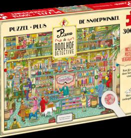 Tucker's  fun factory Pierre Doolhof Detective puzzel 'De snoepwinkel'