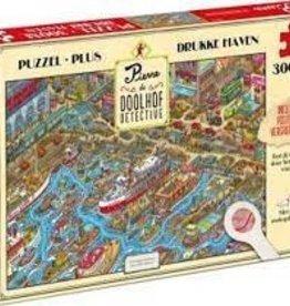 Tucker's  fun factory Pierre Doolhof Detective puzzel  'Drukke haven'