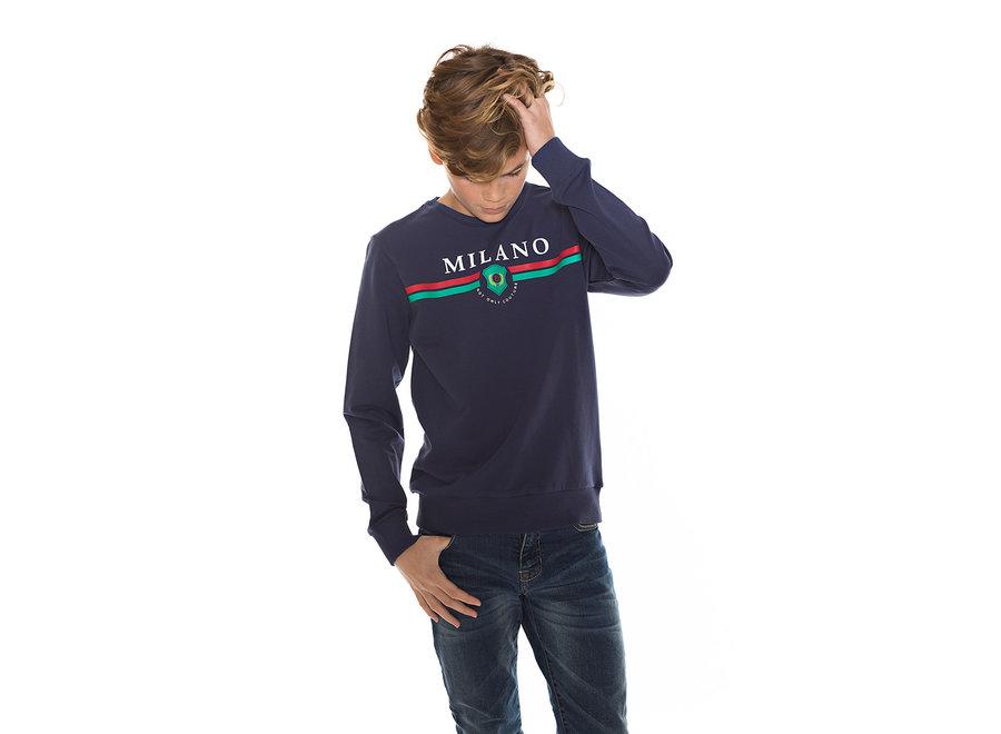 MILANO SWEAT Navy blue
