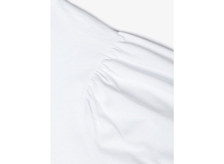 Ballon Short Top White