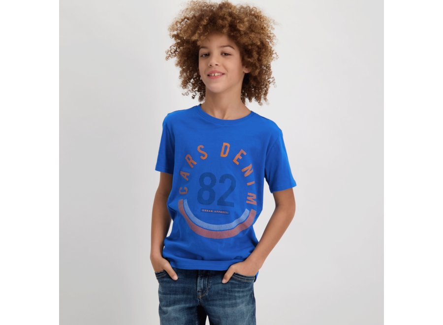 T-shirt WANDER kobalt