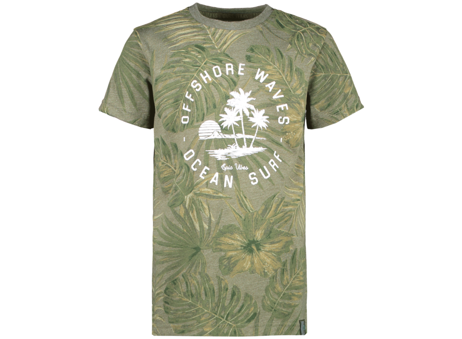 T-shirt LEANY army