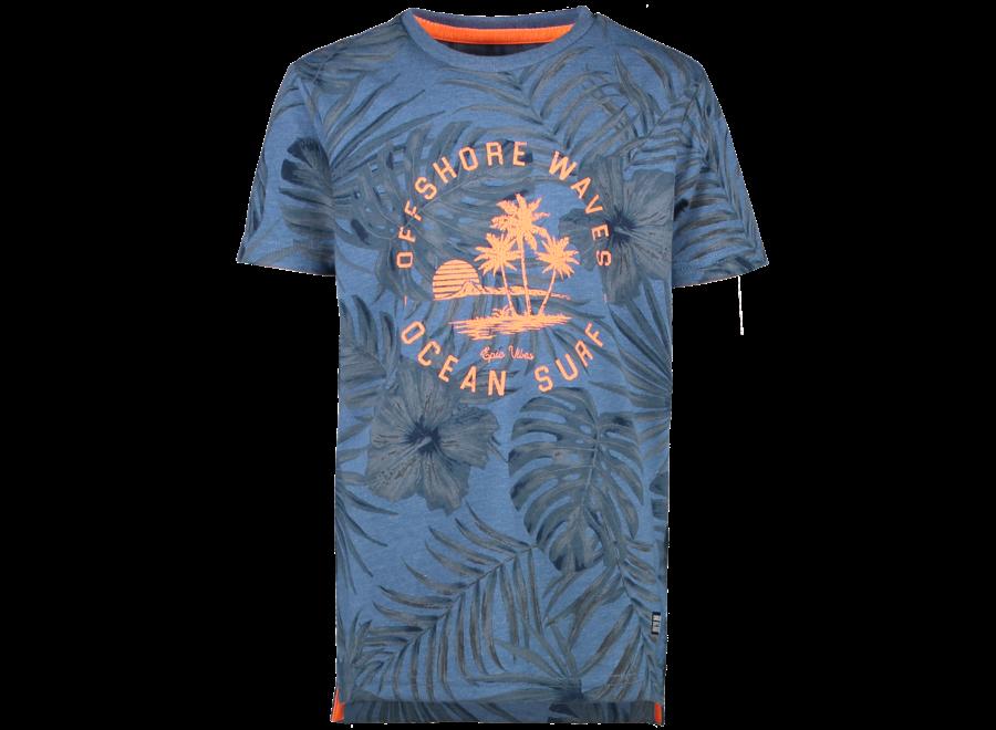 T-shirt LEANY navy