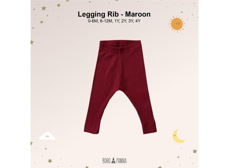 Legging Rib - Unisex
