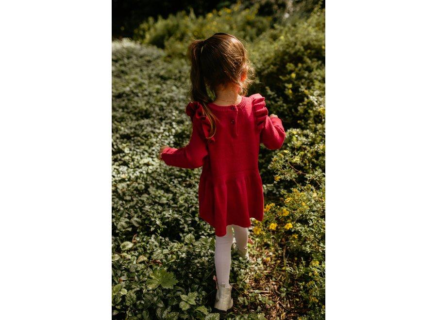Olive Dress - RED