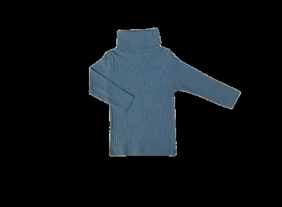 TRUI Turtleneck RIB - SLATE BLUE