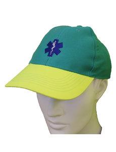 Rescuewear Cap, enamel/geel met Star of Life
