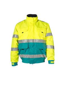 Rescuewear Pilot jack, enamelblauw, maat 4XL