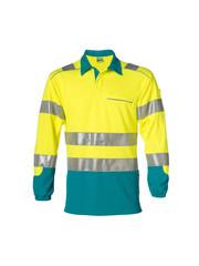Rescuewear Poloshirt enamel lange mouw